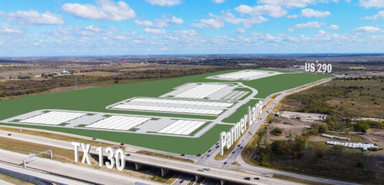 Crossroads Logistics Center - Site Aerial